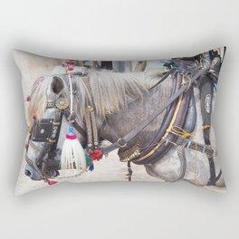 Bali horse Rectangular Pillow