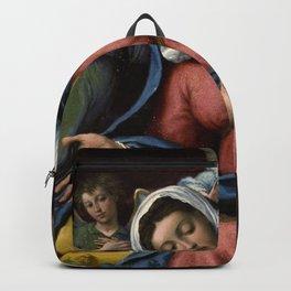 Lorenzo Lotto - Madonna della Grazie Backpack