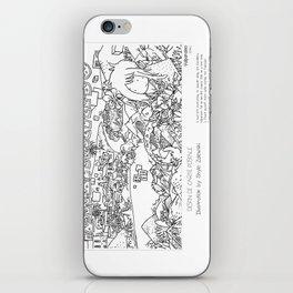 """Valparaiso"" in words & image (S.Zalewski) iPhone Skin"