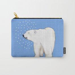 Polar Bear #8 Carry-All Pouch
