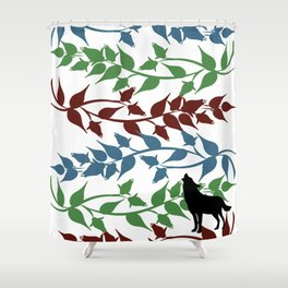 The Wolves of Mercy Falls Shower Curtain