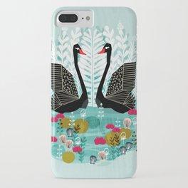 Swans by Andrea Lauren iPhone Case