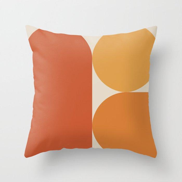 Retro 07A Throw Pillow