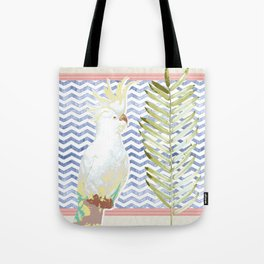 Cockatoo Soiree Tote Bag