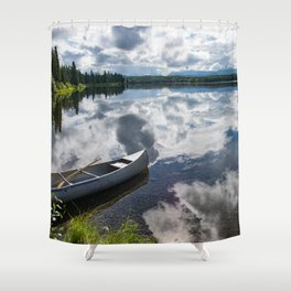 Tranquility At Its Best - Alaska Shower Curtain