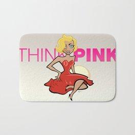 Think Pink Bath Mat