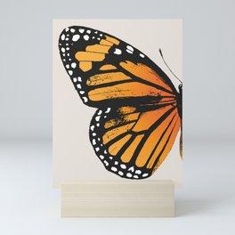 Monarch Butterfly | Left Butterfly Wing | Vintage Butterflies | Mini Art Print