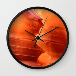 Marvelous Antelope Canyon Wall Clock
