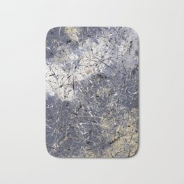 Orion - abstract painting by Rasko Bath Mat