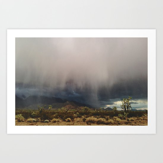 Arizona Storm Art Print