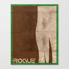 Minimalist Rogue Canvas Print