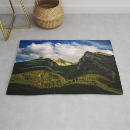 All That Is Above - Mountainscape Rug