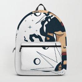 Moon Goddess Deity Fan Or Roman Gift Backpack