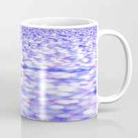 glitter Mugs featuring Periwinkle Glitter Sparkle by Whimsy Romance & Fun