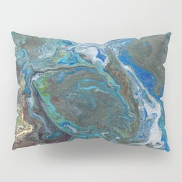 Abstract Oil Painting 17 Pillow Sham