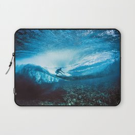 Wave Series Photograph No. 24 - Beneath the Surface Laptop Sleeve