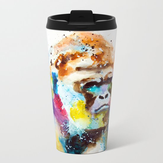 Gorilla Metal Travel Mug