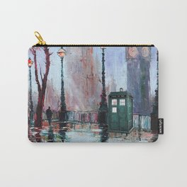 dr who art painting Carry-All Pouch