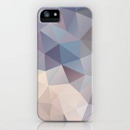 Polygon pattern 9 iPhone Case