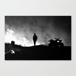Burn It III Canvas Print