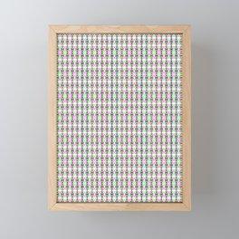 Peace for all (Colours) Framed Mini Art Print