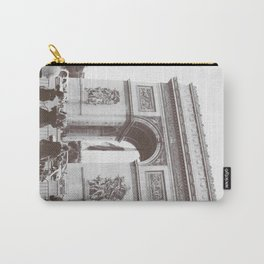 SALE, PARIS Italy Photography, Set of 4 Prints, Travel Decor, Black and White, Colosseum, ART Carry-All Pouch