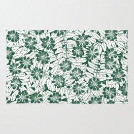 Foliage green Rug