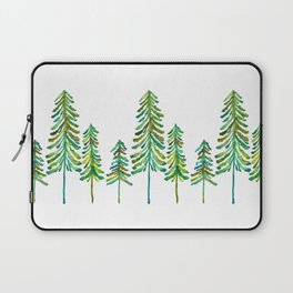 Pine Trees – Green Palette Laptop Sleeve