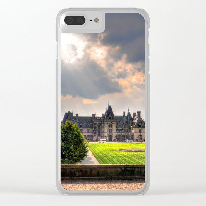 The Biltmore House Clear iPhone Case