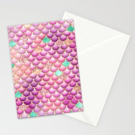 Mermaid Scales 14 Stationery Cards