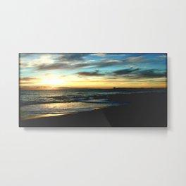 Sunrise on the South Coast of Australia Metal Print