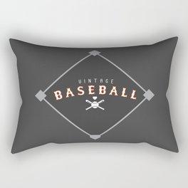 Vintage Baseball Design - Men's Rectangular Pillow