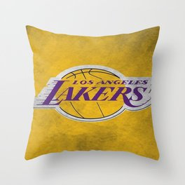 Los Angeles Laker Throw Pillow