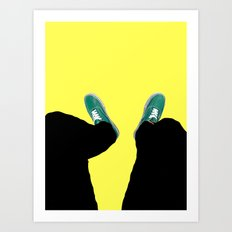 Down. Art Print