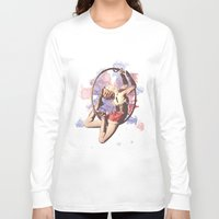 water color Long Sleeve T-shirts featuring Water Color by Camila Agostini