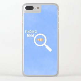 Finding Nemo Clear iPhone Case