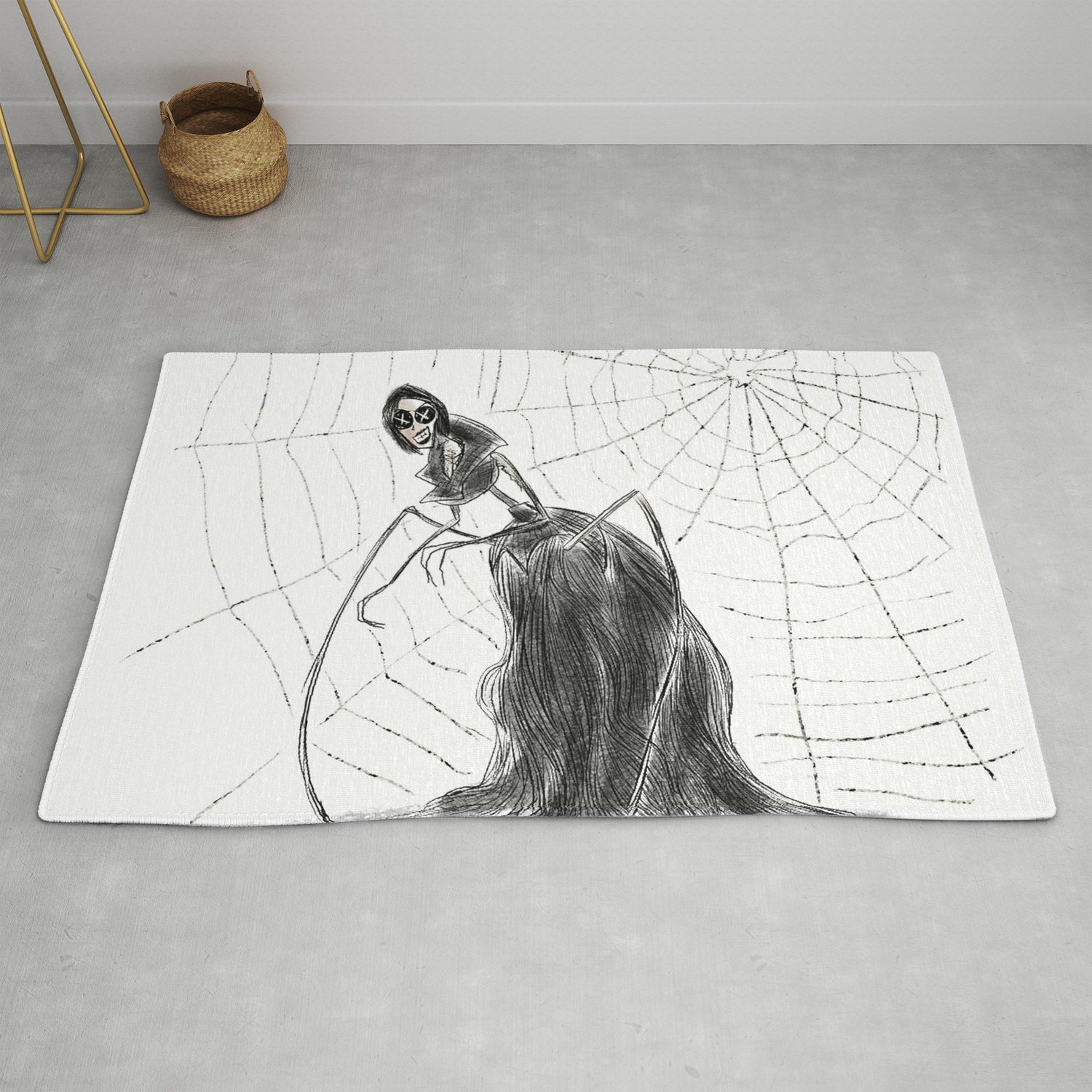 Coraline The Other Mother Rug By Hollydoesart Society6
