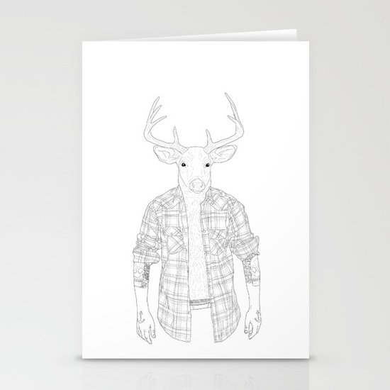 What the Deer ? Stationery Cards