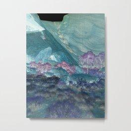 Crystal Deserts Metal Print