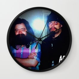 Meeting of the Mindz Wall Clock