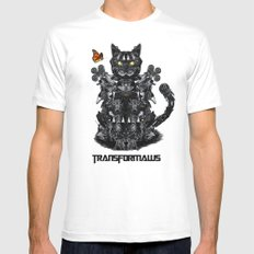 Transformaws White Mens Fitted Tee MEDIUM