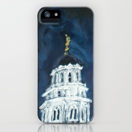 Nauvoo IL LDS Temple Tie iPhone Case