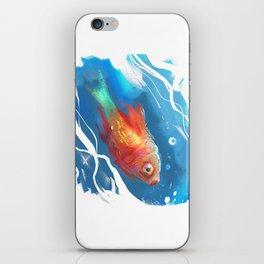 Golden Fish iPhone Skin