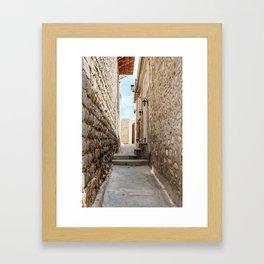 The Way to Greece III Framed Art Print