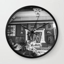 Vintage Horse Wall Clock