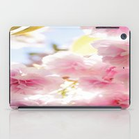 cherry blossom iPad Cases featuring Cherry Blossom by 2sweet4words Designs