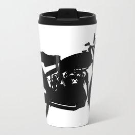 Motor Cycle Silhouette Travel Mug