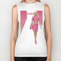 moschino Biker Tanks featuring MOSCHINO RUNWAY BARBIE GIRL by RickyRicardo787