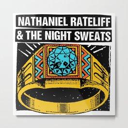 nathaniel rateliff night sweats tour 2021 Metal Print