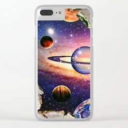 The Great Beyond Clear iPhone Case